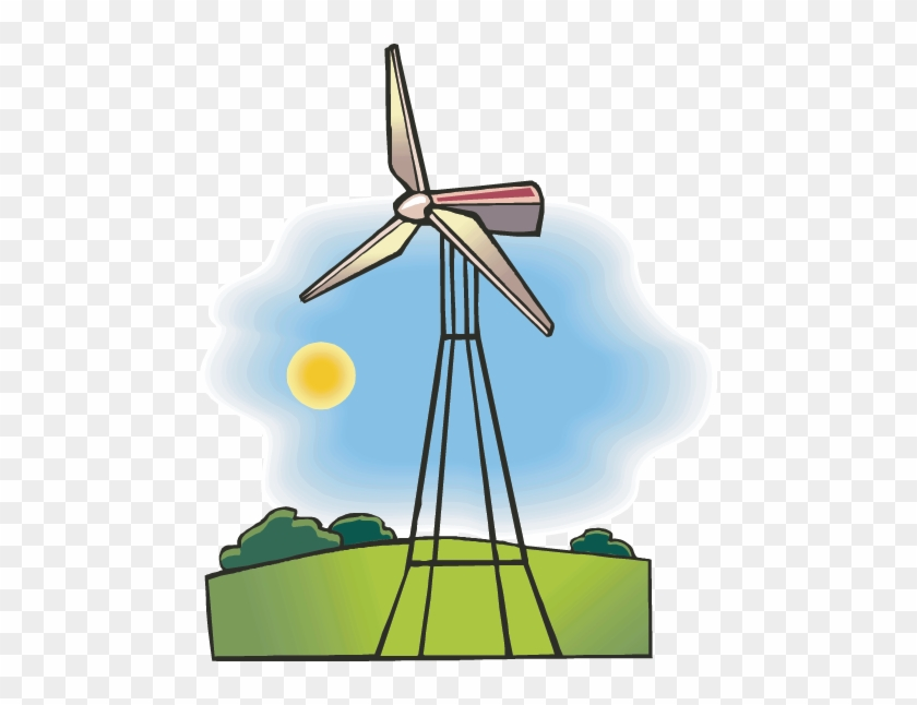 Wind Generator - Wind Energy Coloring Pages #305222