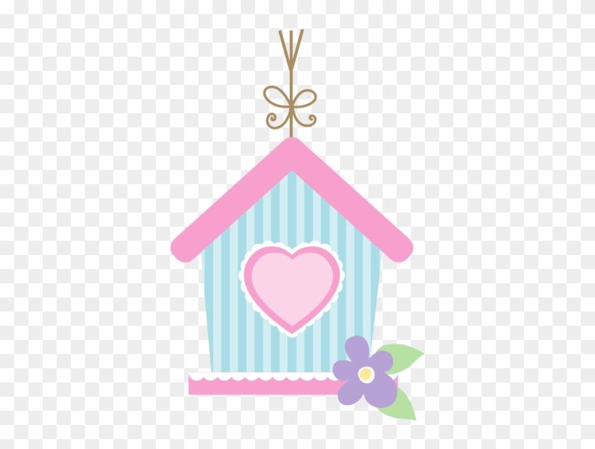 """Kit De Personalizados Tema """"passarinhos"""" Para Meninas - Desenho De Casinha De Passarinho #305553"""