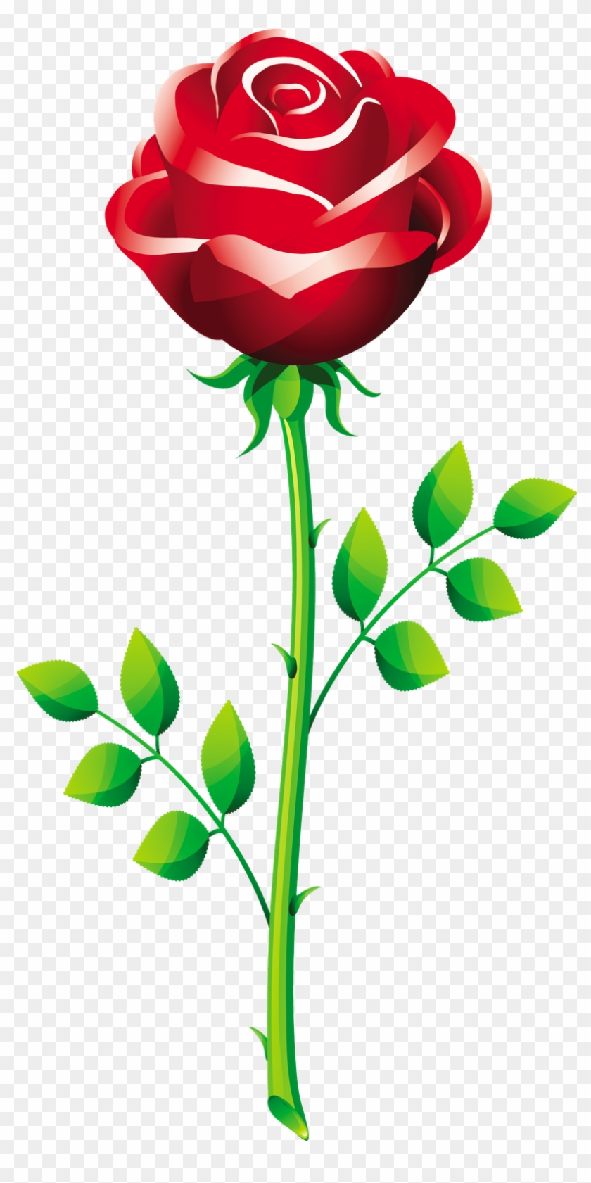 Flowers For Rose Flower Vector Png - Propose Picture With Rose #305691