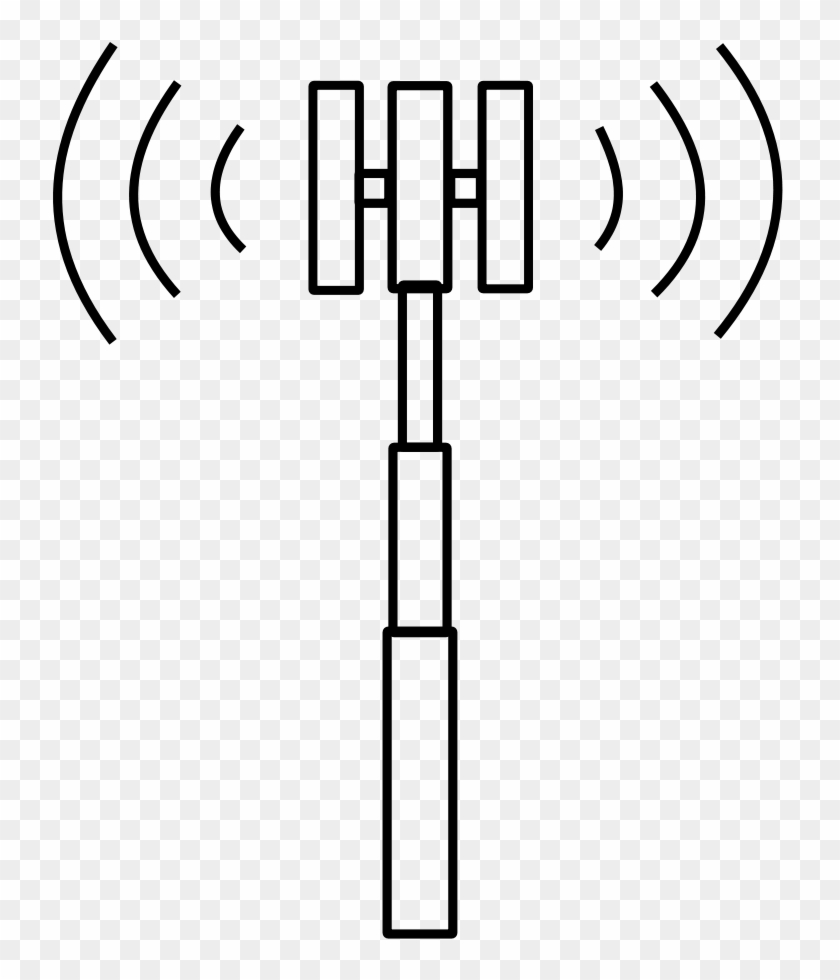 Word War Vi Tesla Tower Clipart, Vector Clip Art Online, - Cell Phone Tower Clipart #306025