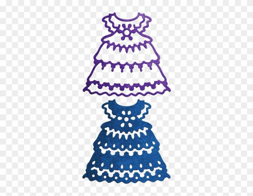 Cheery Lynn Designs Stanzform Babykleidchen / Baby - Cheery Lynn Designs - Baby Girl's Dress Die - Cabd53 #306063