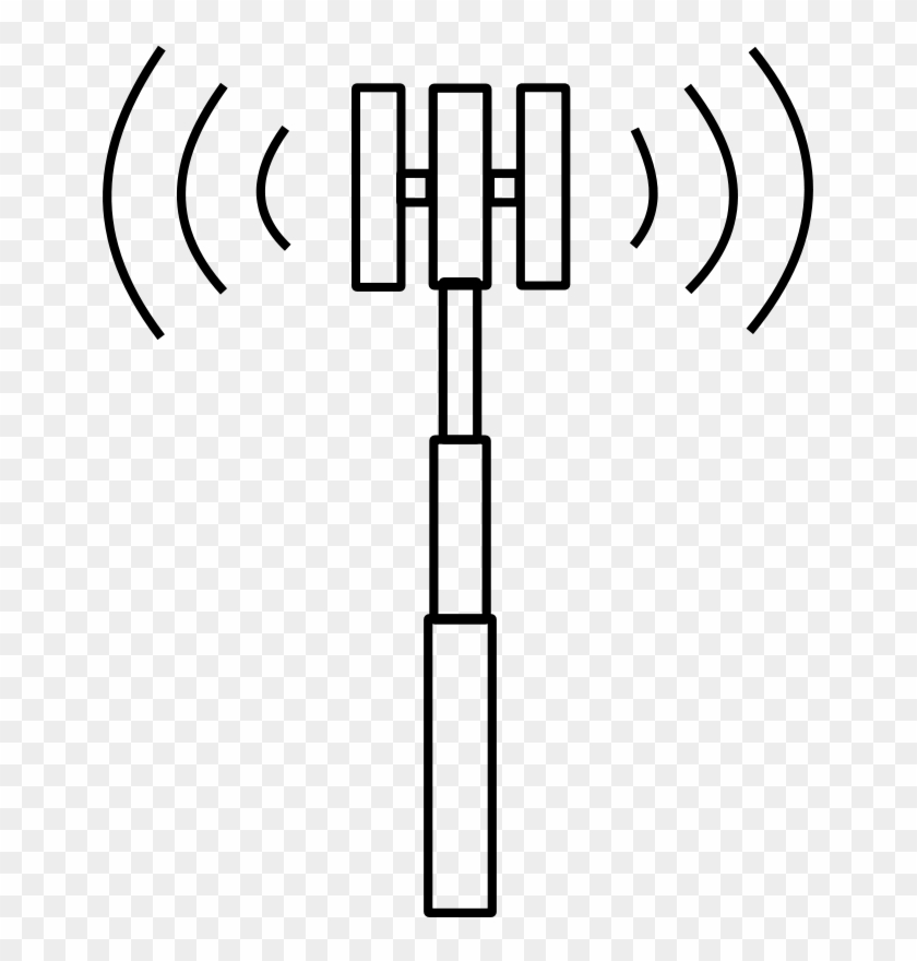 All Images From Collection - Cell Phone Tower Clipart #306107