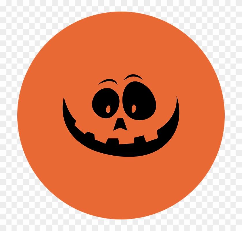 Thanksgiving Vector Art 28, Buy Clip Art - Pumpkin Or Ghost Smile Halloween Costume T-shirt #306510