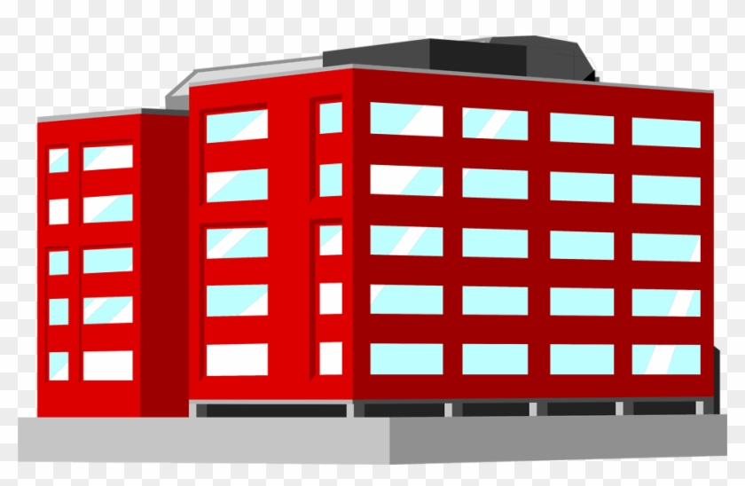 Office Building Clipart Png - Office Building Clipart Red #306717