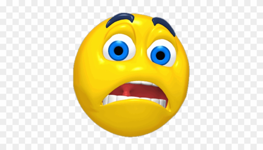 Nice Cartoon Pictures Of Scared Faces Psd Detail Worried - Scared Face Clipart #306780