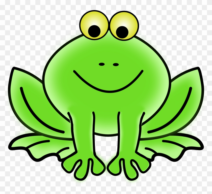 Green Art Clipart - Animated Pictures Of A Frog #306987