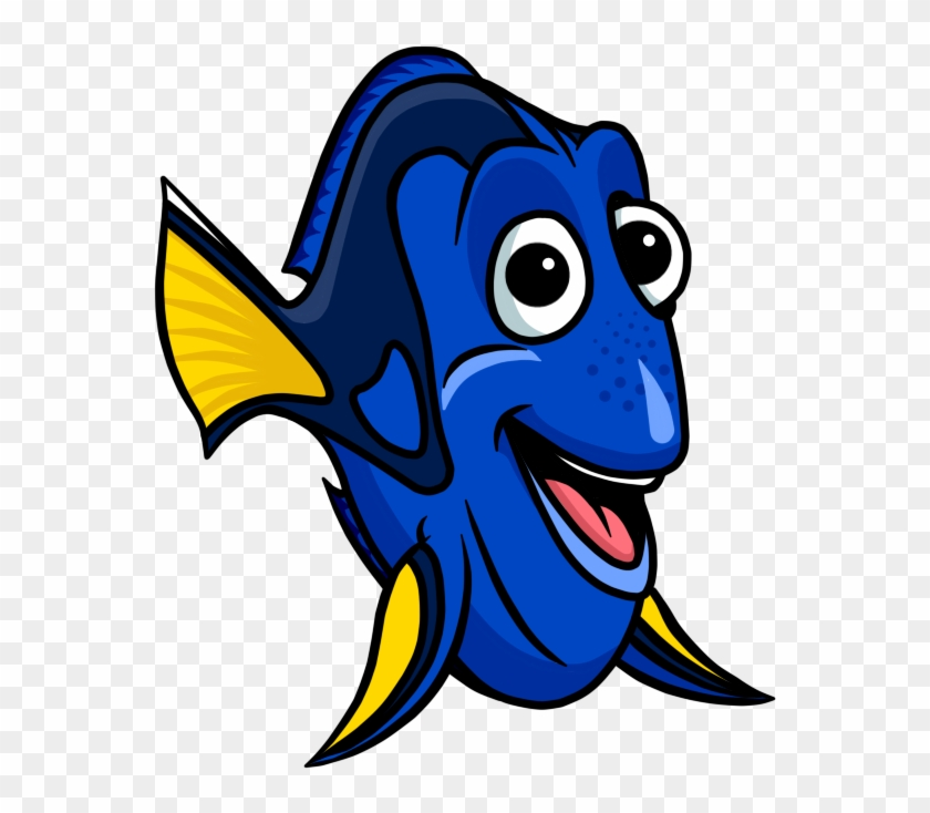 Fish Cartoon Nemo Picture Clipart Free Clip Art Images - Dory Cartoon #307063