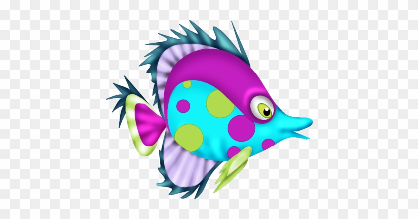 Cartoon Fish Felt Animals Sea Creatures Rainbow Desenho De