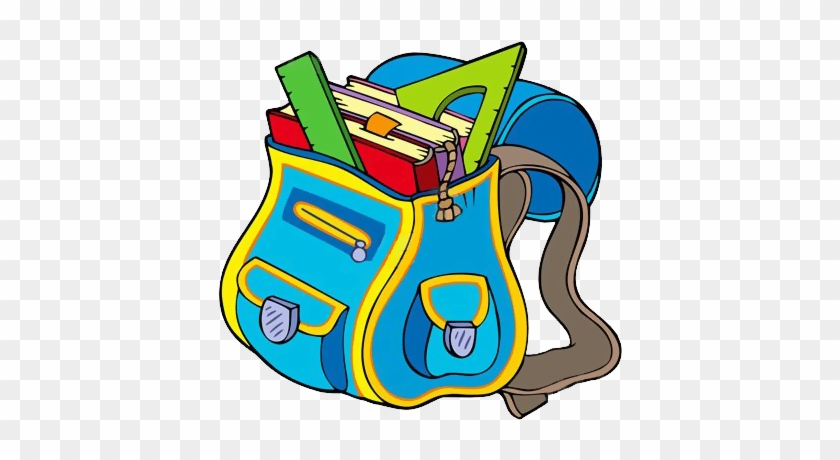 Gify Nena - Škola Str - - School Bag Clipart #307112