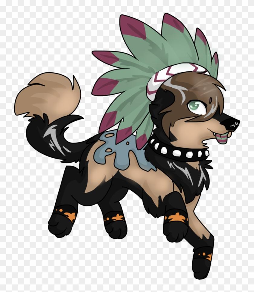 Commission For Xxneonskaixx By Loopy44 - Animal Jam Wolf Fanart #307541