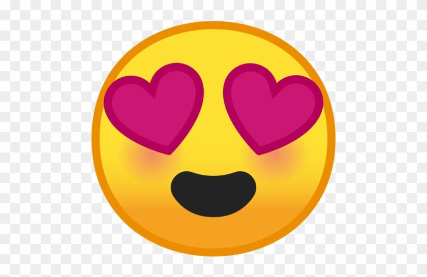 Google - Emoji Heart Eyes Google #307547