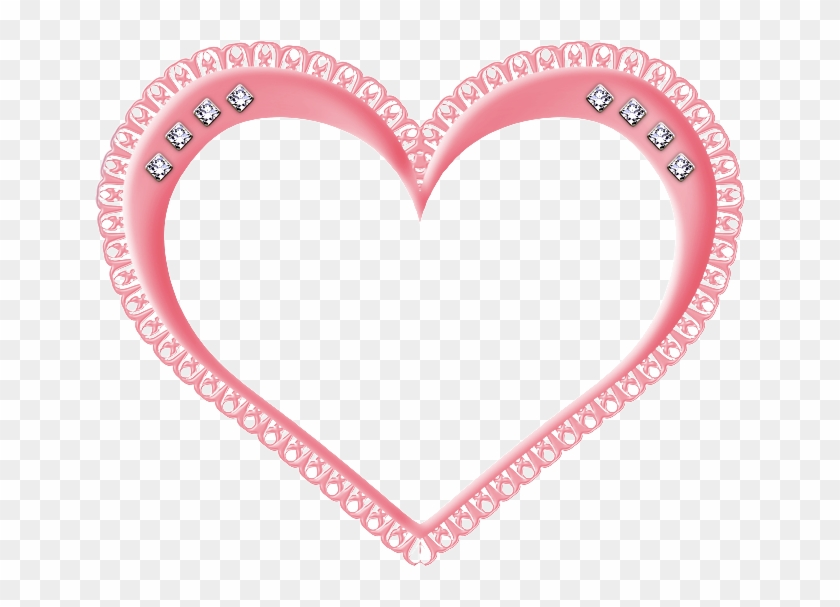 Dibujo - Heart Shaped Border Design #307963