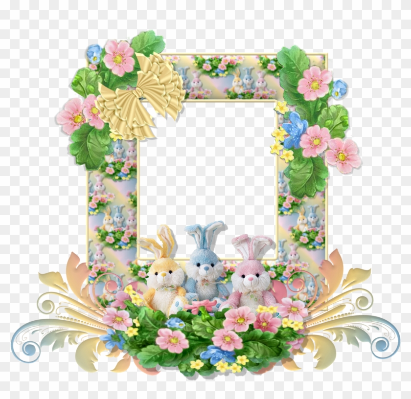 Easter Frames Free Png Image - Glitter Graphics Happy Easter - Free ...