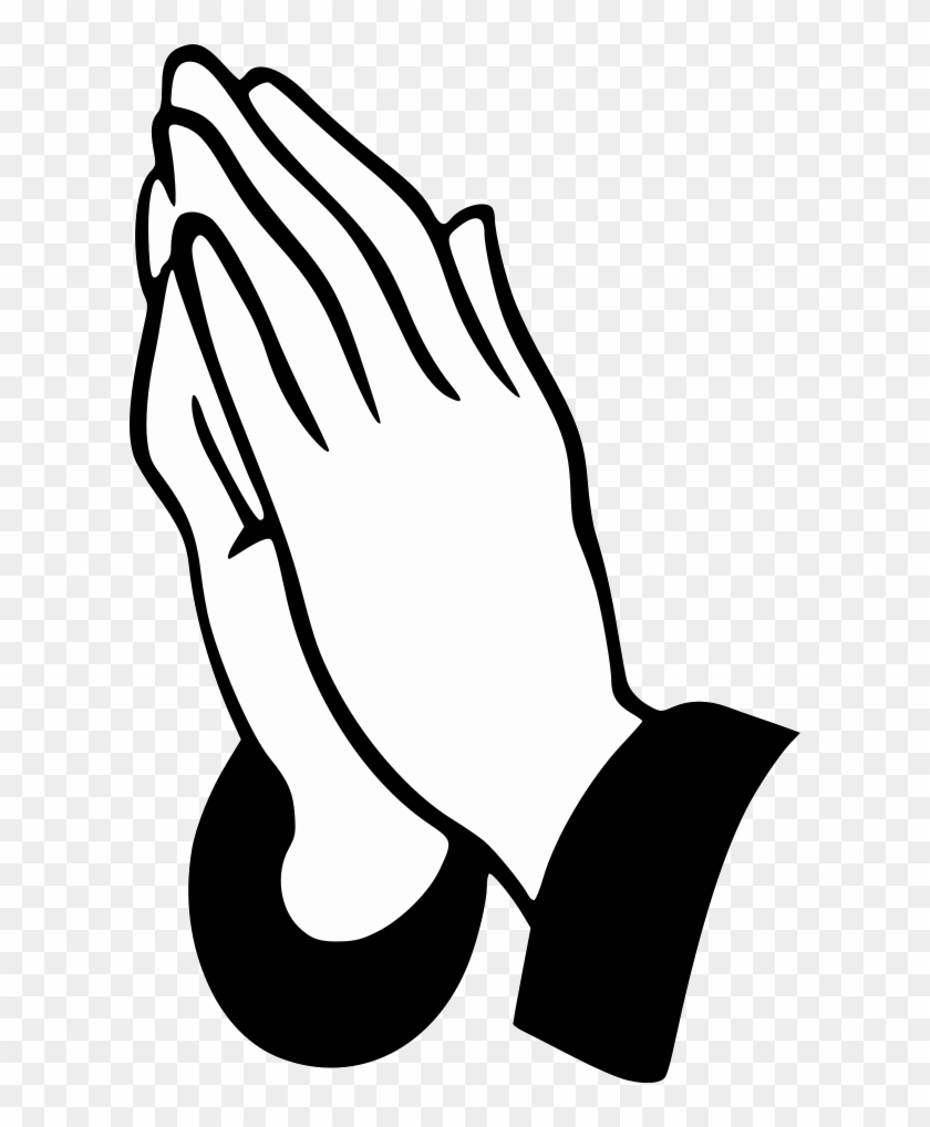 Does God Judge Our Prayers - Praying Hands Clipart #53336