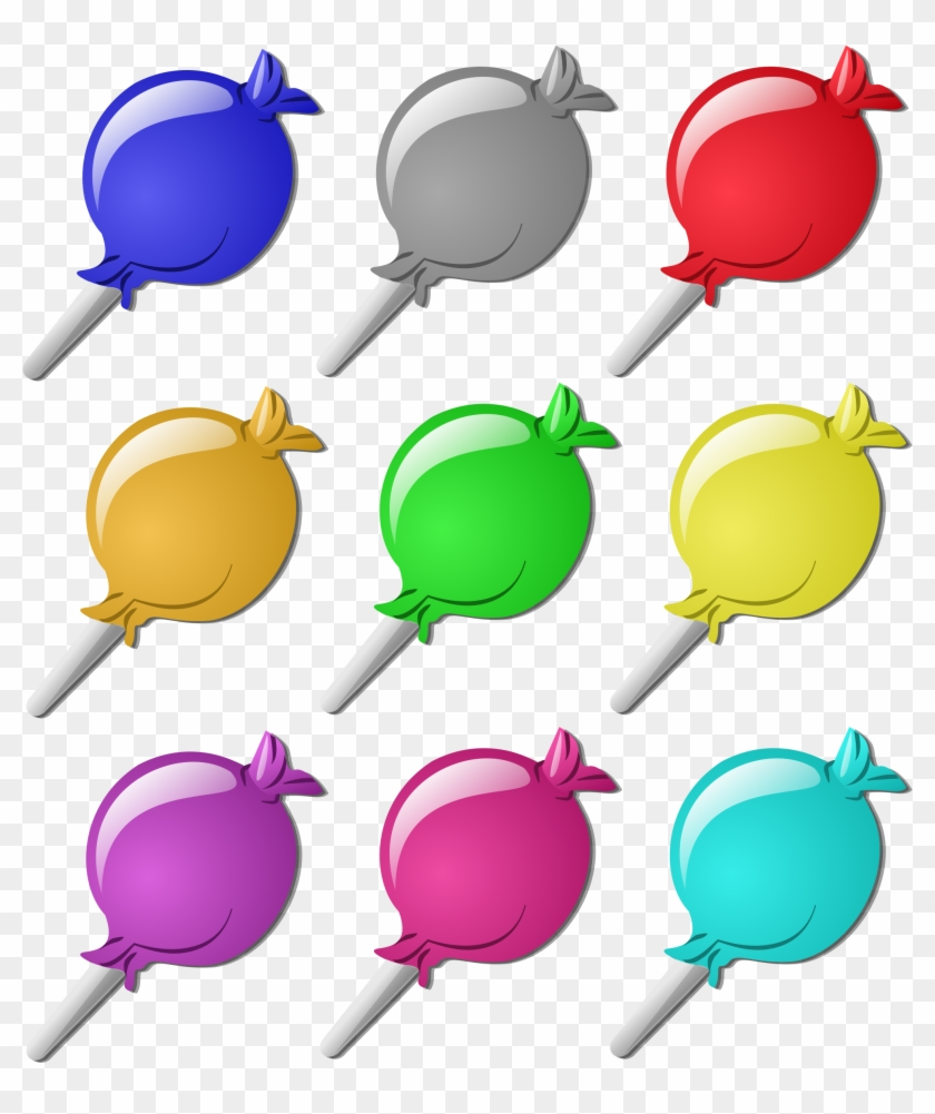 Candy Crushes The Competition - Lollipop Clip Art #53357