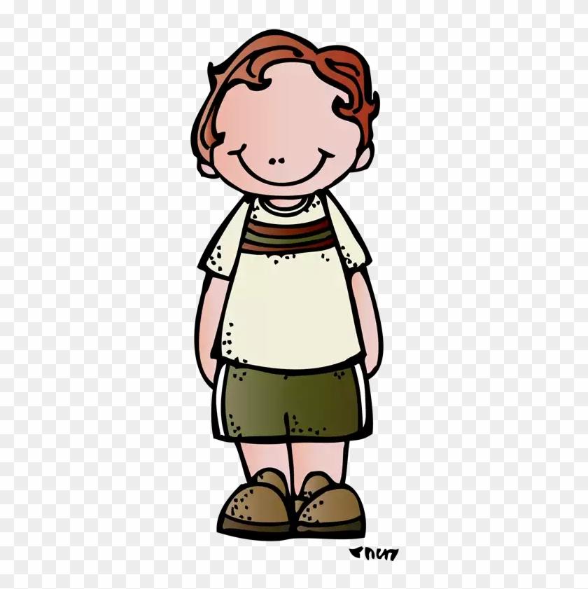 Children Clipart, School Clipart, Clip Art, Niños Anime, - Melonheadz Boy Clipart #53475