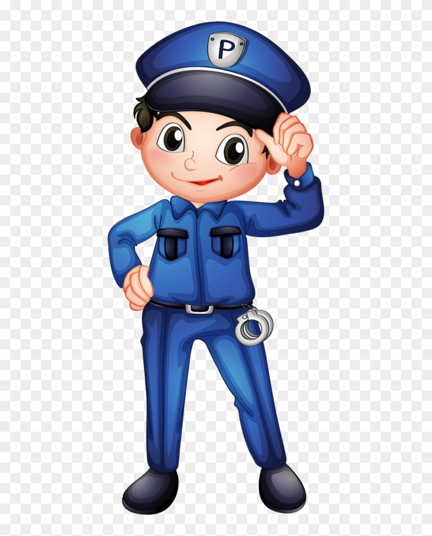 Manualidades - Police Officer Clipart Png #53523