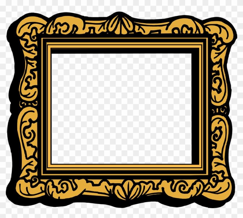 Empty Picture Frame Clip Art - Clip Art Photo Frame #53646