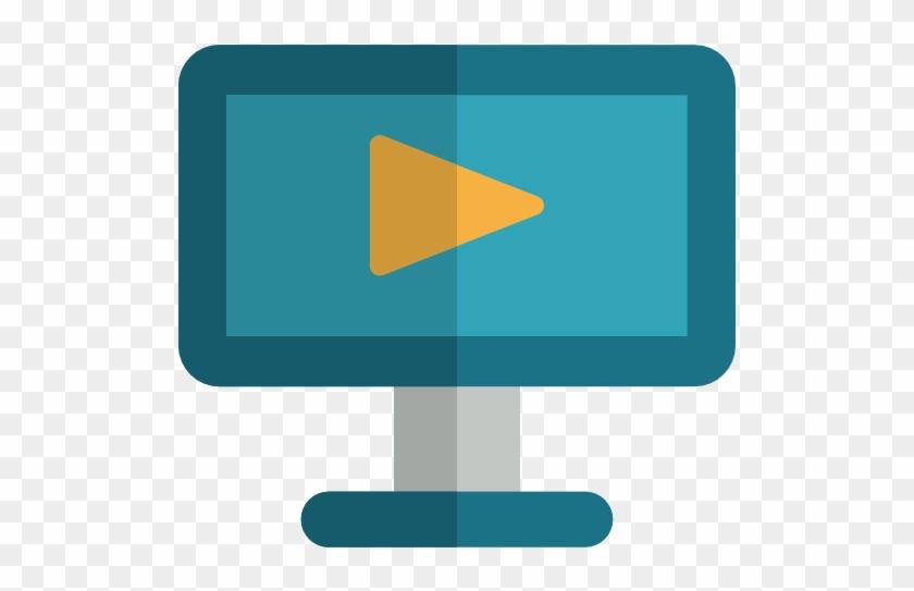 Size - Computer Screen Video Icon #53700