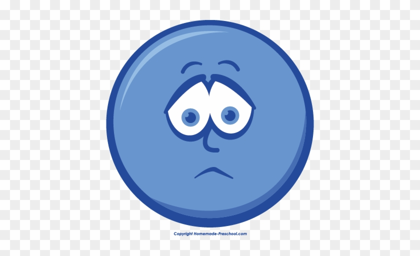 Sad Smiley Face Clipart - Crying #53847