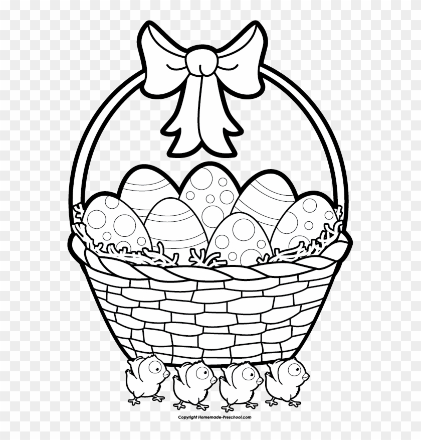 Apple Basket Clipart Draw A Easter Basket 53848