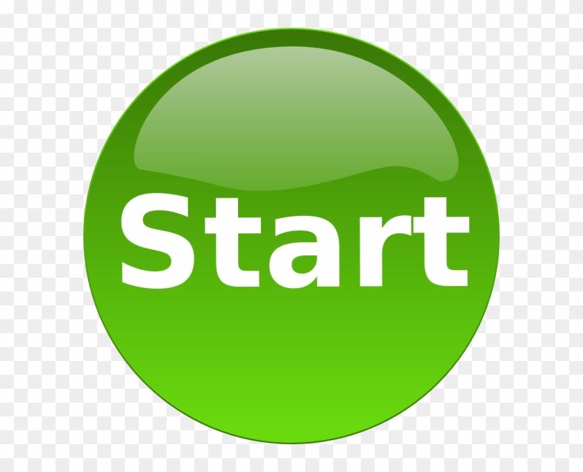 Another Green Start Button Png Images - Green Start Button #53906