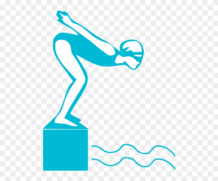 Athlete Grils Swimming Clipart Cliparts And Others - Swimming Diving Clipart #54477