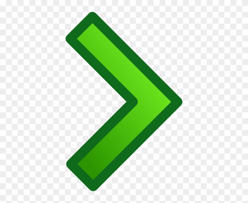 Green Single Right Arrow Set Svg Clip Arts 396 X 607 - Green Right Arrow Png #54492