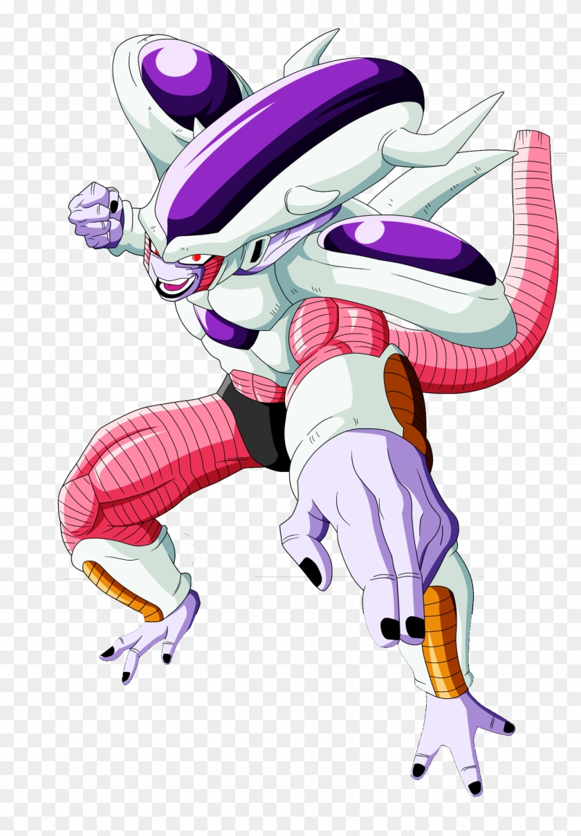 Frieza S Third Form - Dragon Ball Z Big Forehead #54580
