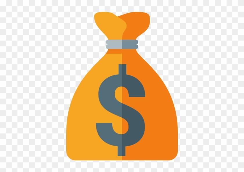 Money Bag With Dollar Sign - Money Bag Icon Euro #54647