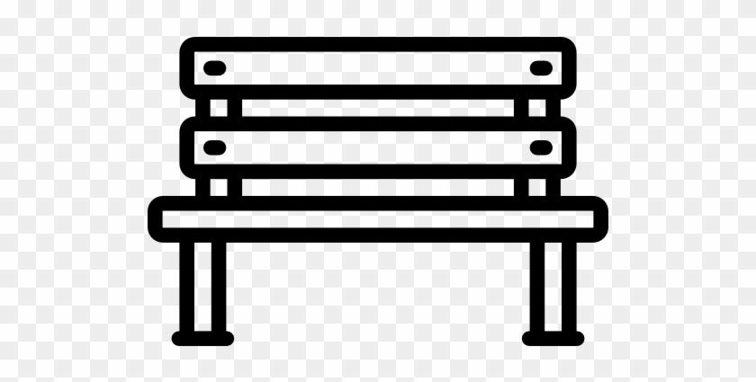 Size - Park Bench Svg #54817