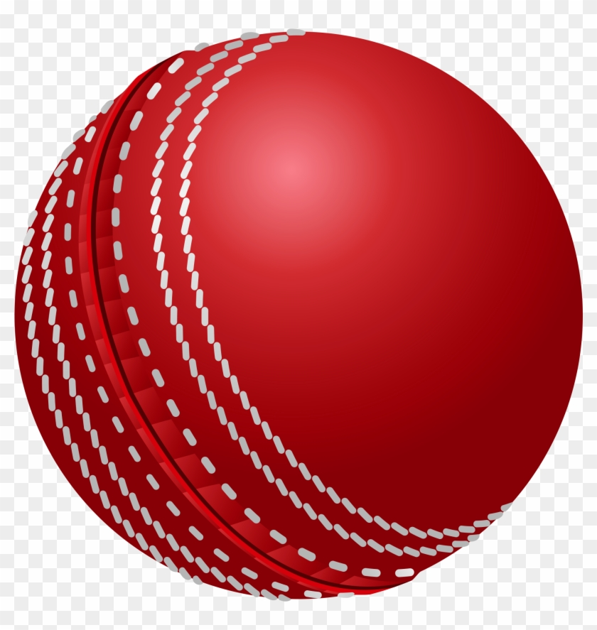 Cricket Ball Png Clipart Picture - Cricket Ball Vector Png #54935