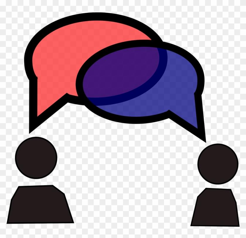 Conversation Bubbles - Student Conversation Clipart #54941