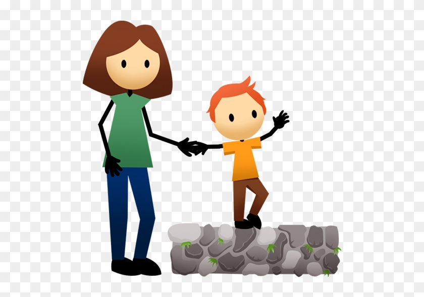 Toddler Balance Walk - Balancing Kid Cartoon #54953