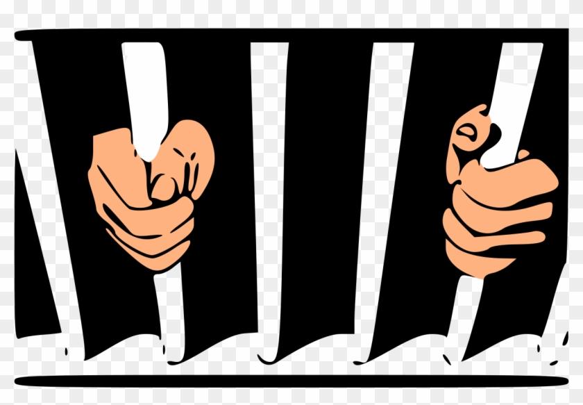File - Prisonbars - Svg - Prison #55166