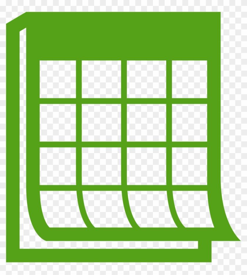 Open - Green Calendar Icon Png #55167