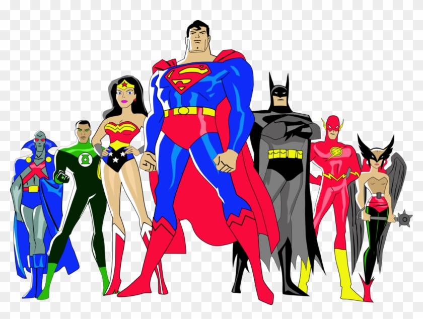 Justice League - Liga Da Justiça Desenho #55286