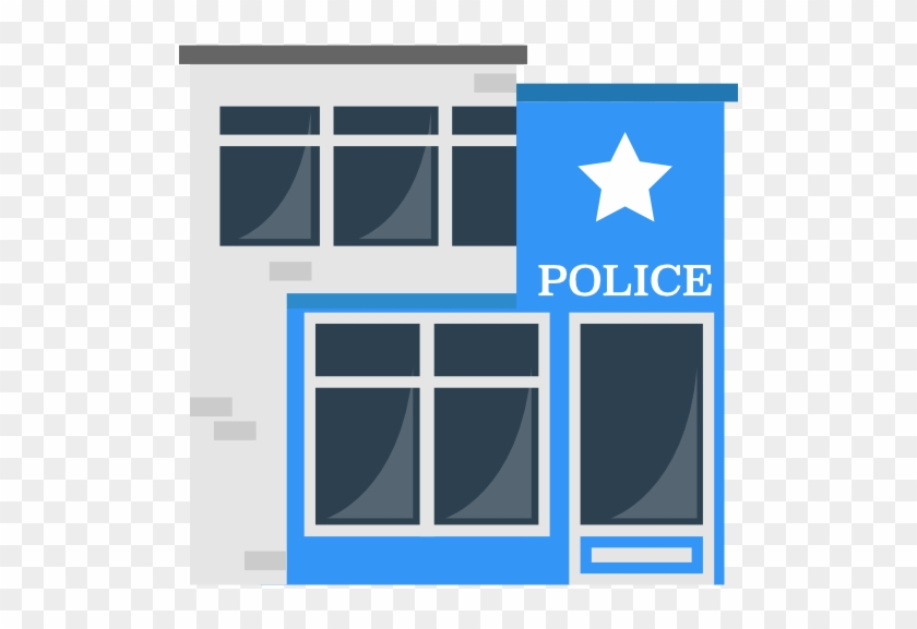 Size - Police Building Png #55352