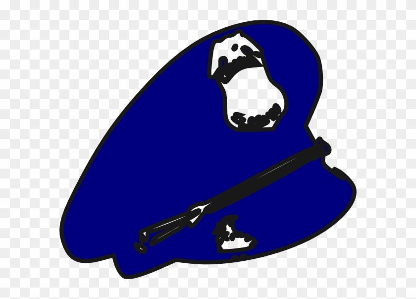 Police Man Hat Clip Art - Police Hat Clip Art Png #55437