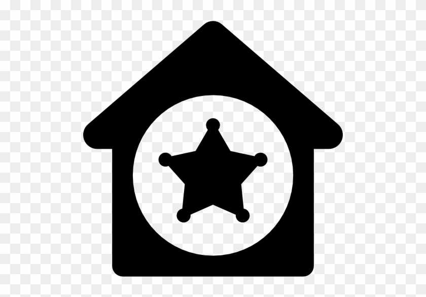 Size - Symbol Of Police Station #55449