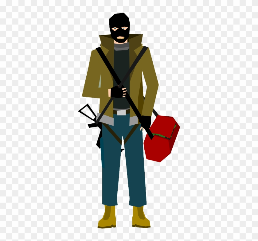 Free Bank Robber Clip Art - Clipart Bank Robber #55498