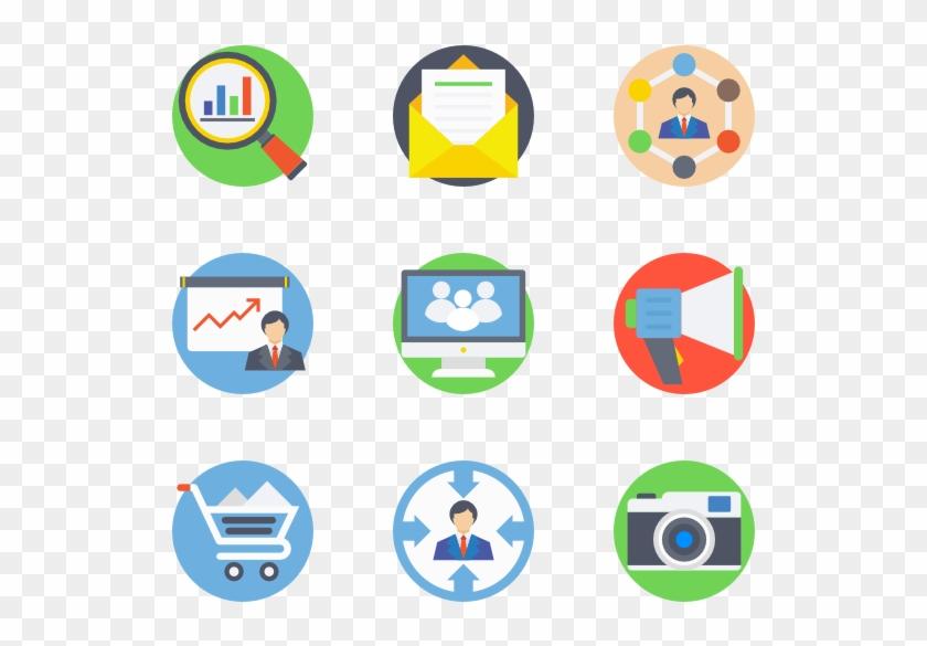 Digital Marketing - Digital Marketing Icon Vector #55543