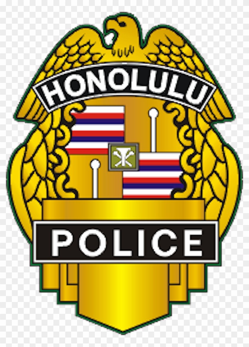 Honolulu Police Department Retired Memorial - Honolulu Police Department Badge #55600