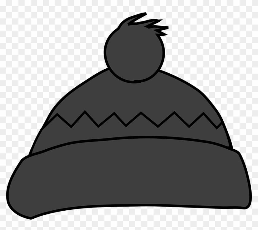 Pudelmütze Clipart - Winter Clothes Clipart #55602