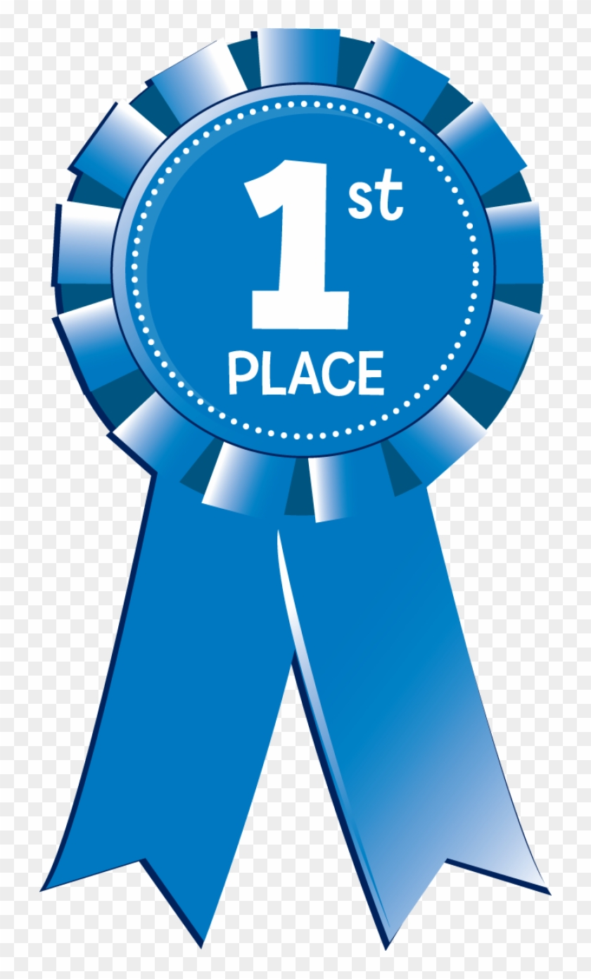 1st Place Medal Clipart Free - 1st Place Blue Ribbon #55668