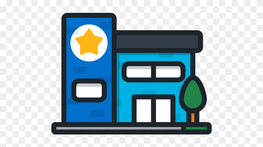 Police Station Free Icon - Police Station #55690