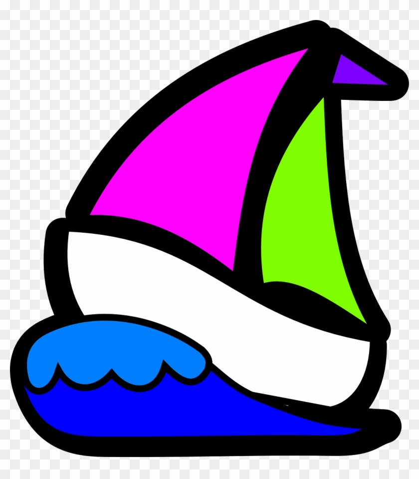 Boat, Rowers Symbol Isolated Rowing Sport Boat W - Sail Boat Clip Art #56071