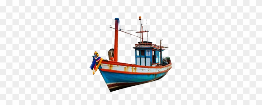 Cartoon Fishing Boat Png Png Images - Boat For Fishing Png #56076