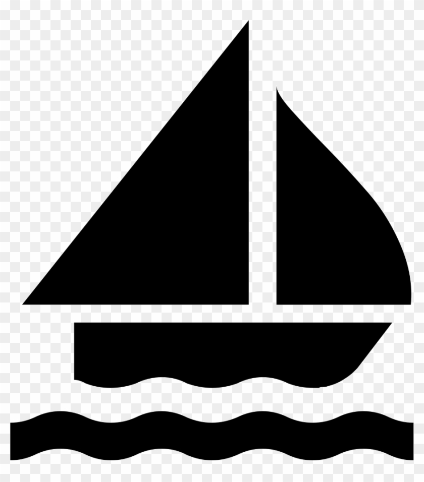 sailing boat silhouette svg png icon free download