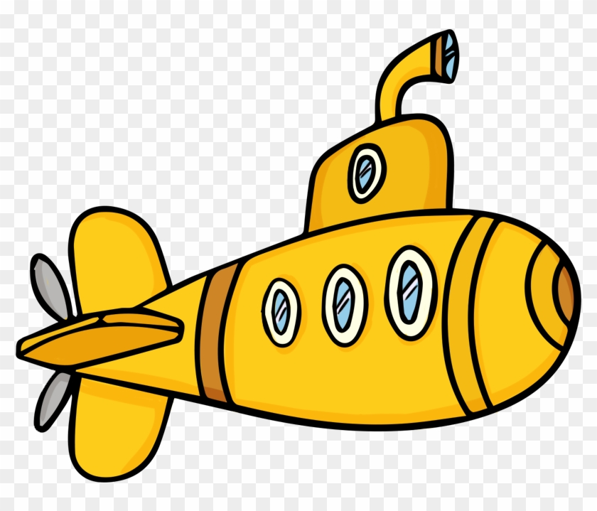 Commercial Fishing Boat Clipart - Submarine Clipart #56140